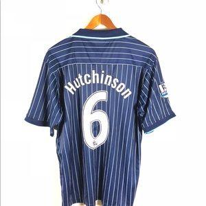 e16fda12cab Arsenal FC Shirts - Arsenal Fc Omari Hutchinson Soccer Jersey Striped